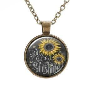 Sunshine pendant necklace